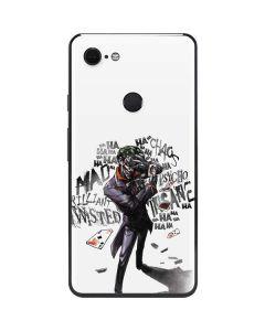 Brilliantly Twisted - The Joker Google Pixel 3 XL Skin