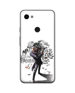 Brilliantly Twisted - The Joker Google Pixel 3a Skin
