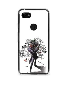 Brilliantly Twisted - The Joker Google Pixel 3a XL Clear Case
