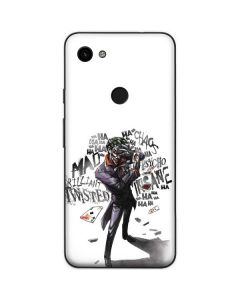 Brilliantly Twisted - The Joker Google Pixel 3a XL Skin