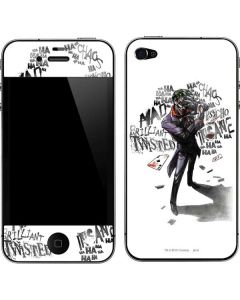 Brilliantly Twisted - The Joker iPhone 4&4s Skin