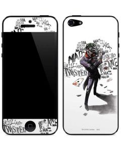 Brilliantly Twisted - The Joker iPhone 5/5s/SE Skin