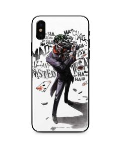 Brilliantly Twisted - The Joker iPhone X Skin