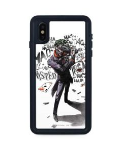 Brilliantly Twisted - The Joker iPhone XS Max Waterproof Case