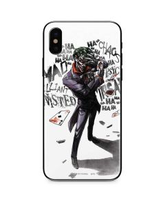 Brilliantly Twisted - The Joker iPhone XS Skin