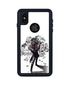 Brilliantly Twisted - The Joker iPhone XS Waterproof Case
