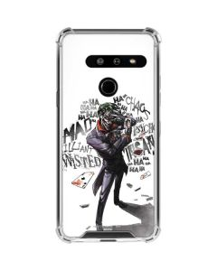 Brilliantly Twisted - The Joker LG G8 ThinQ Clear Case