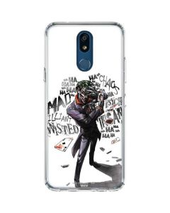 Brilliantly Twisted - The Joker LG K30 Clear Case