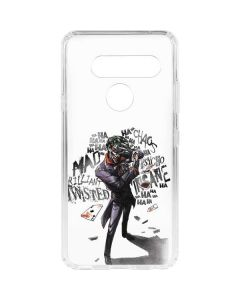 Brilliantly Twisted - The Joker LG V40 ThinQ Clear Case