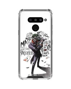 Brilliantly Twisted - The Joker LG V50 ThinQ Clear Case