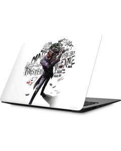 Brilliantly Twisted - The Joker Apple MacBook Skin
