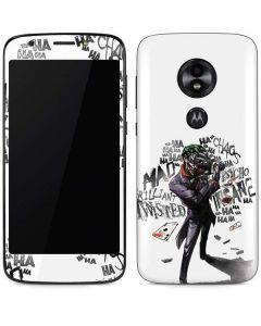 Brilliantly Twisted - The Joker Moto E5 Play Skin