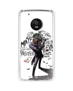 Brilliantly Twisted - The Joker Moto G5 Plus Clear Case