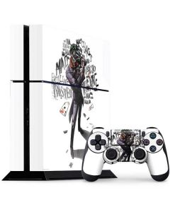 Brilliantly Twisted - The Joker PS4 Console and Controller Bundle Skin