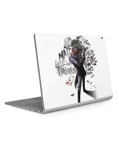 Brilliantly Twisted - The Joker Surface Book 2 13.5in Skin