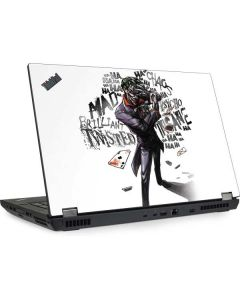 Brilliantly Twisted - The Joker Lenovo ThinkPad Skin
