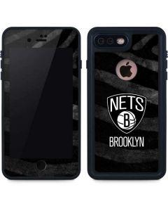 Brooklyn Nets Black Animal Print iPhone 7 Plus Waterproof Case