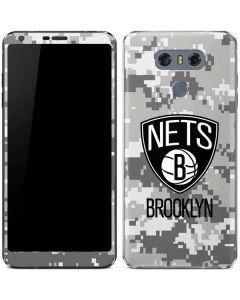 Brooklyn Nets Digi Camo LG G6 Skin