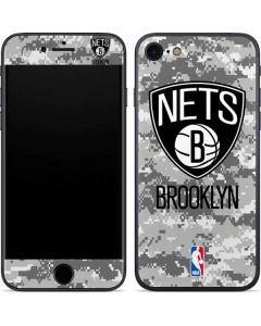 Brooklyn Nets Digi Camo iPhone 7 Skin