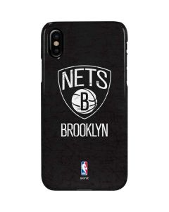 Brooklyn Nets Distressed iPhone XS Max Lite Case