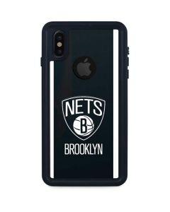 Brooklyn Nets Jersey iPhone XS Waterproof Case