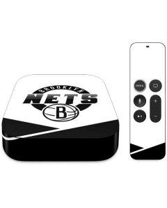 Brooklyn Nets Split Apple TV Skin