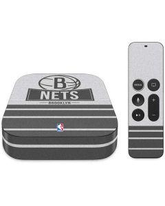 Brooklyn Nets Static Apple TV Skin