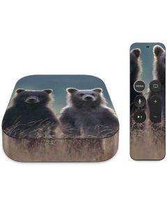 Brown Bears Apple TV Skin