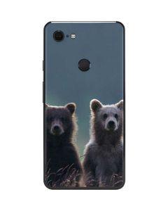 Brown Bears Google Pixel 3 XL Skin