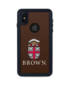 Brown University iPhone X Waterproof Case