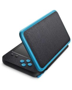 Brushed Steel Texture 2DS XL (2017) Skin