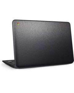 Brushed Steel Texture HP Chromebook Skin