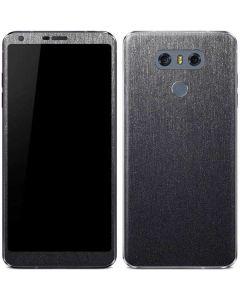 Brushed Steel Texture LG G6 Skin