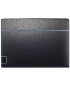 Brushed Steel Texture Galaxy Book Keyboard Folio 10.6in Skin