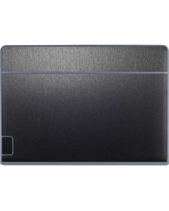 Brushed Steel Texture Galaxy Book Keyboard Folio 12in Skin