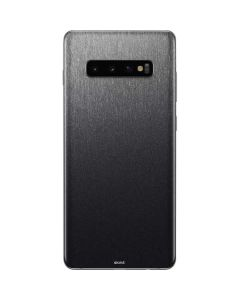Brushed Steel Texture Galaxy S10 Plus Skin