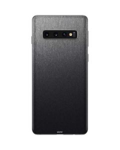 Brushed Steel Texture Galaxy S10 Skin