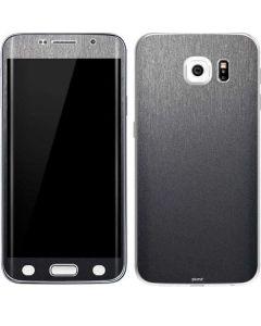 Brushed Steel Texture Galaxy S6 Edge Skin