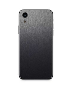 Brushed Steel Texture iPhone XR Skin