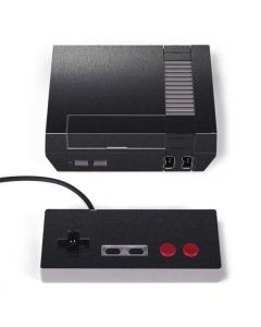 Brushed Steel Texture NES Classic Edition Skin