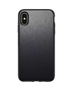 Brushed Steel Texture Otterbox Symmetry iPhone Skin