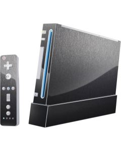 Brushed Steel Texture Wii (Includes 1 Controller) Skin