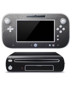 Brushed Steel Texture Wii U (Console + 1 Controller) Skin