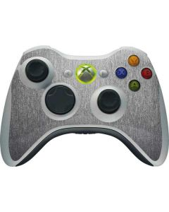 Brushed Steel Texture Xbox 360 Wireless Controller Skin