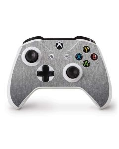 Brushed Steel Texture Xbox One S Controller Skin