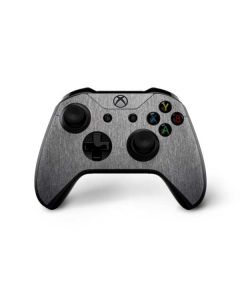Brushed Steel Texture Xbox One X Controller Skin