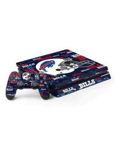 Buffalo Bills - Blast Alternate PS4 Slim Bundle Skin