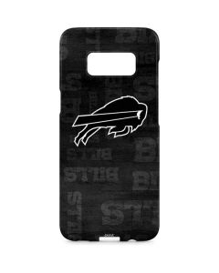 Buffalo Bills Black & White Galaxy S8 Plus Lite Case