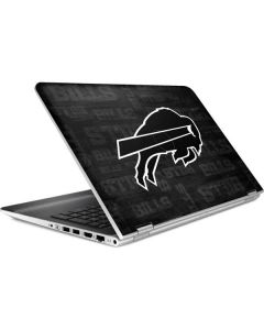 Buffalo Bills Black & White HP Pavilion Skin