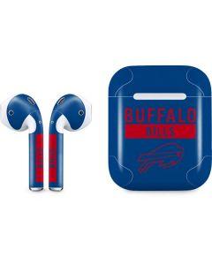 Buffalo Bills Blue Performance Series Apple AirPods Skin